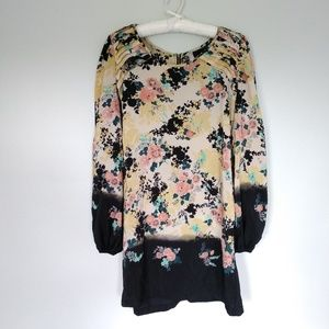 Xhilaration floral dress size L